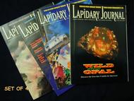 LAPIDARY JOURNAL. LATER CALLED JEWELRY ARTS MAGAZINE: BACK ISSUES